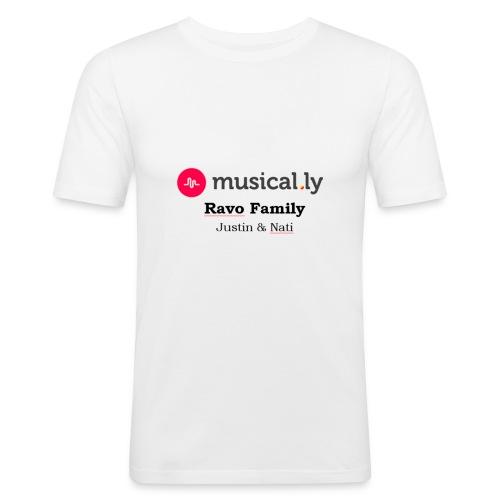Ravo Family - Männer Slim Fit T-Shirt