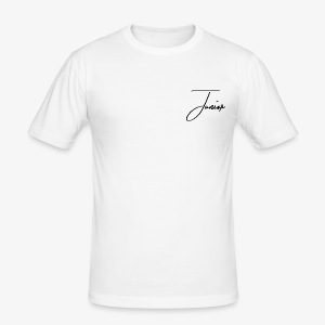 JUNIOR CLASSIC BLACK - Männer Slim Fit T-Shirt