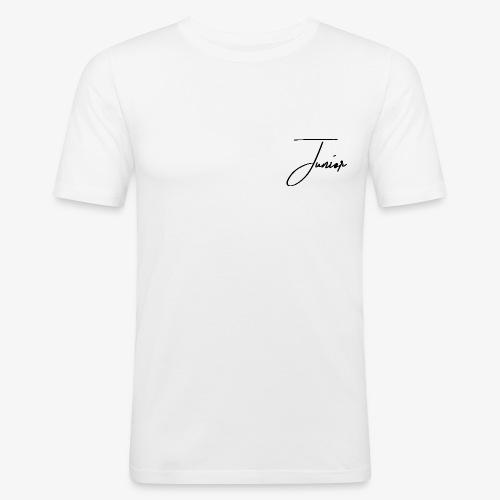 JUNIOR CLASSIC BLACK - Männer Slim Fit T-Shirt