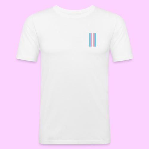 Lowkey Trans Pride - Men's Slim Fit T-Shirt