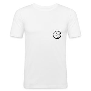 The big surf wave (black) - Tee shirt près du corps Homme