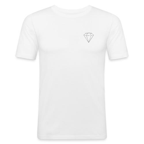 gem black logo png - Slim Fit T-shirt herr