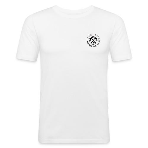 Survive The Wild Logo - Men's Slim Fit T-Shirt