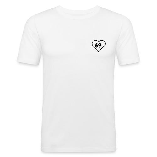 One Word - 69. - Männer Slim Fit T-Shirt