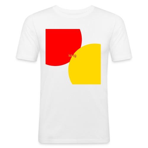 lol tg - T-shirt près du corps Homme
