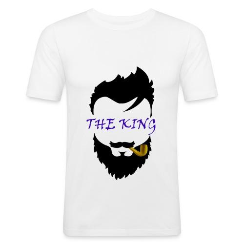 Bart T-shirt - Männer Slim Fit T-Shirt