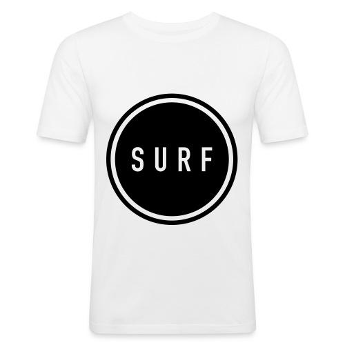 SURF MNML - Männer Slim Fit T-Shirt