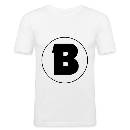 Blazer Logo von eurem Youtube - Männer Slim Fit T-Shirt