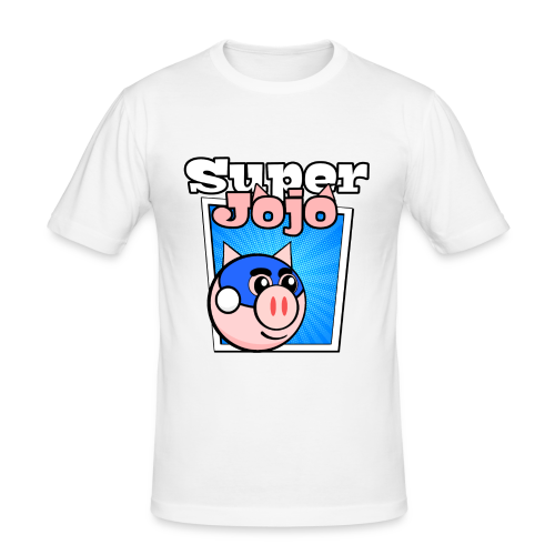 Super Jojo Game Icon - Men's Slim Fit T-Shirt