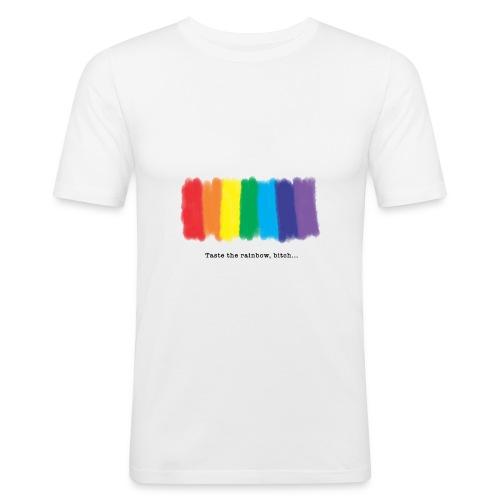 Taste the rainbow - Männer Slim Fit T-Shirt