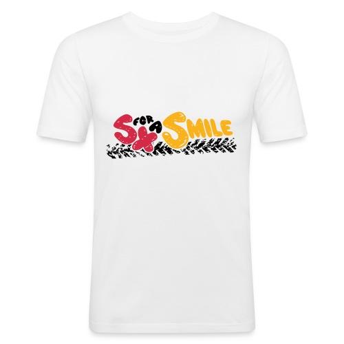 SX FOR A SMILE - Männer Slim Fit T-Shirt