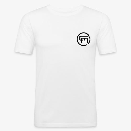 Chris Mitchell Black Logo - Men's Slim Fit T-Shirt
