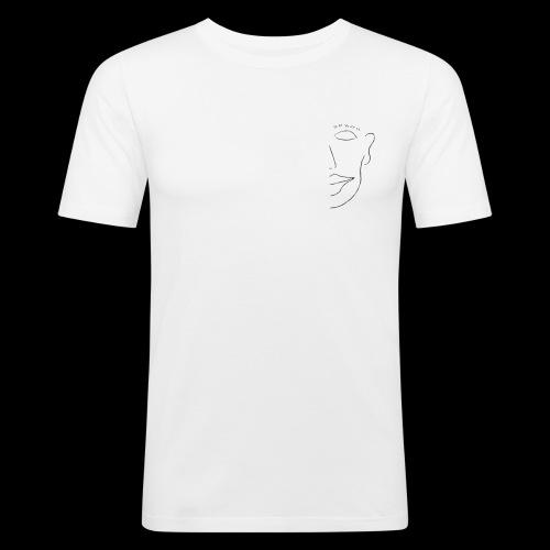 Peeping Tom Logo - Männer Slim Fit T-Shirt