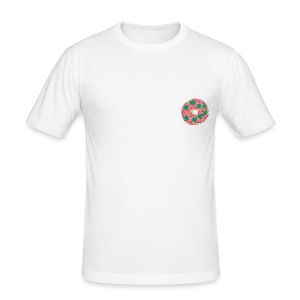 Donut and Broccoli - Tee shirt près du corps Homme