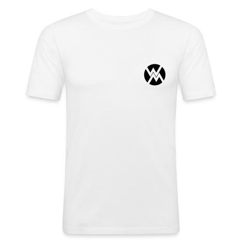 logo WM - T-shirt près du corps Homme