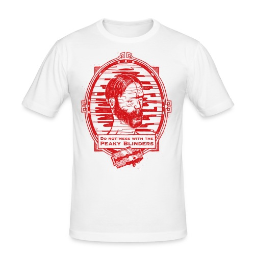 Peaky Blinders - Männer Slim Fit T-Shirt