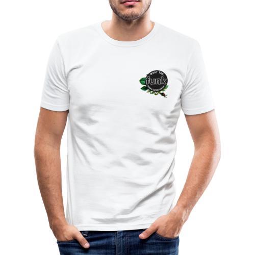 WTFunk - ROSES LOGO- Summer/Fall 2018 - Männer Slim Fit T-Shirt