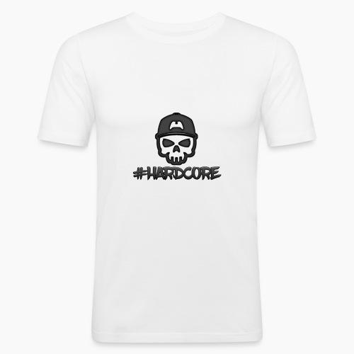 HardcoreT-Shirt | Beliebige Größe und Farbe - Männer Slim Fit T-Shirt