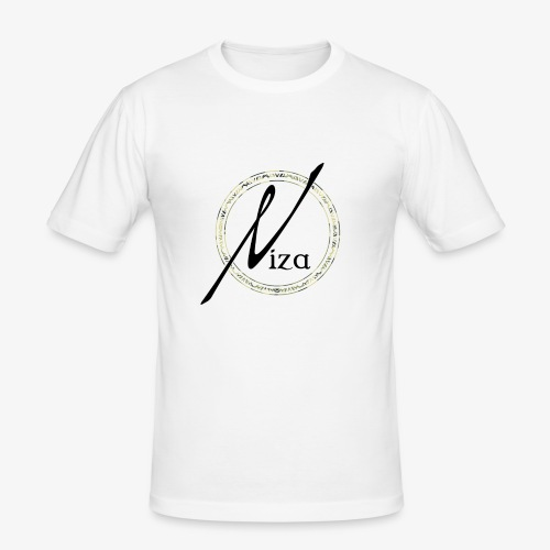 Niza Logo Camouflage - Männer Slim Fit T-Shirt
