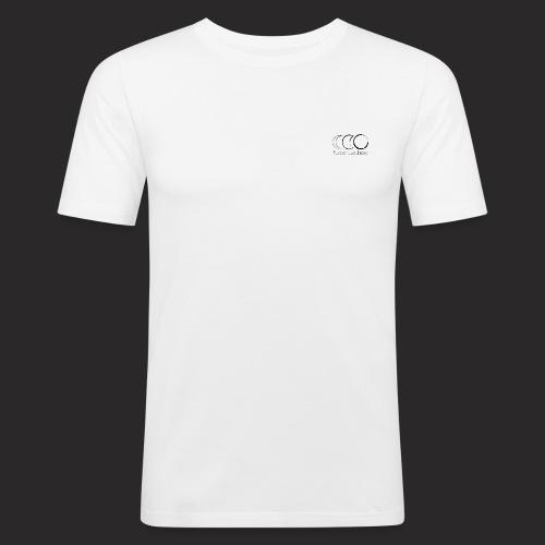 Triple lune dessin - Face cachée - T-shirt près du corps Homme