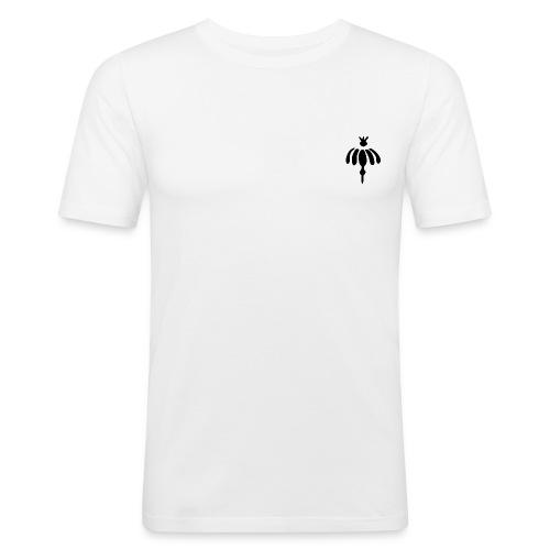 L schwarz - Männer Slim Fit T-Shirt