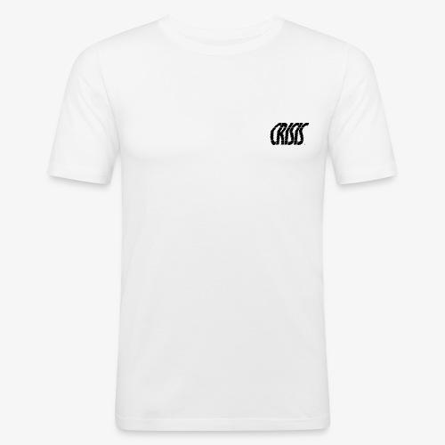 CRISIS black - T-shirt près du corps Homme