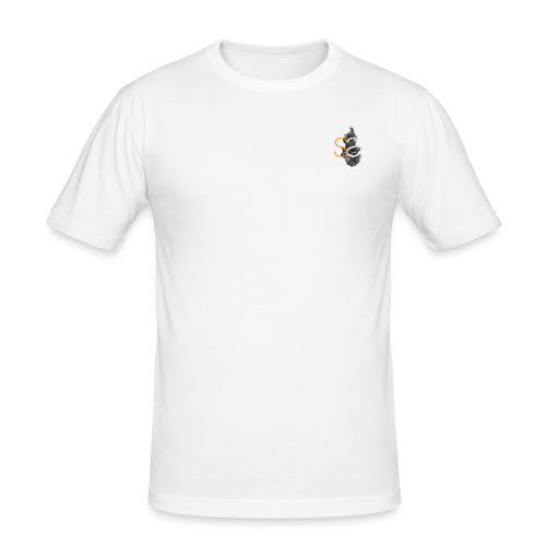DubbleS logo - slim fit T-shirt