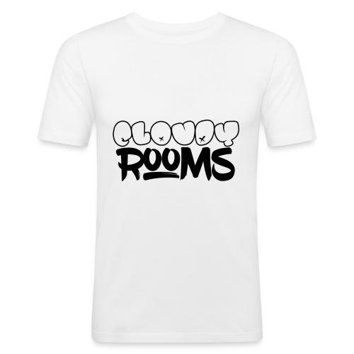 Cloudy Rooms OG Logo - Men's Slim Fit T-Shirt