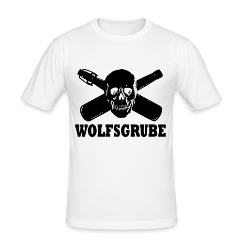 Wolfsgrube shit 2016 - Männer Slim Fit T-Shirt