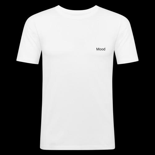 White Mood Hoodie - Herre Slim Fit T-Shirt