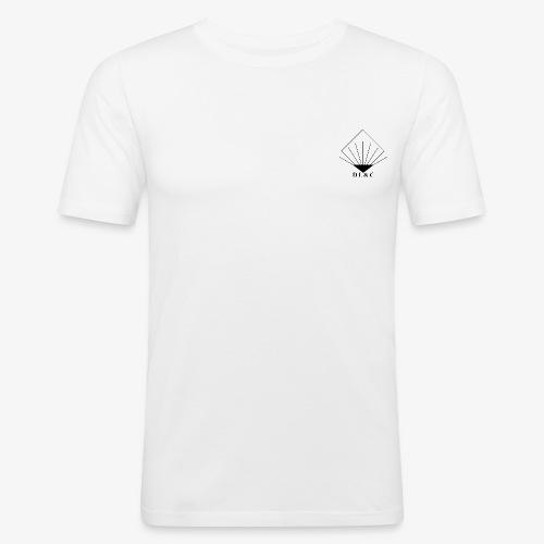 Logo DLC Noir - T-shirt près du corps Homme