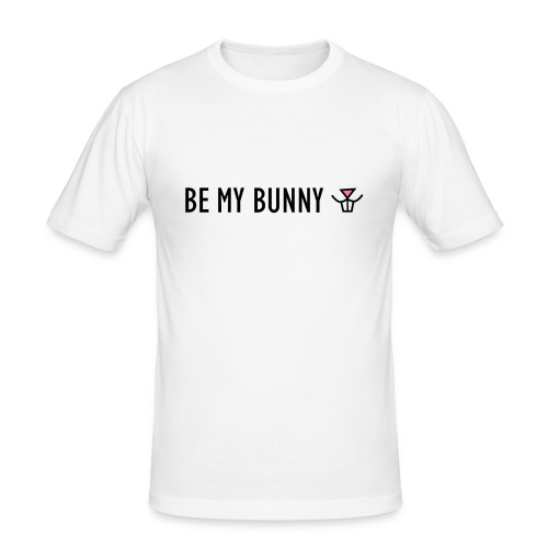 Be My Bunny - Men's Slim Fit T-Shirt