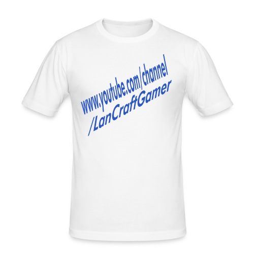 Delux LanCraftGamer Clothes/Accessories - Slim Fit T-shirt herr