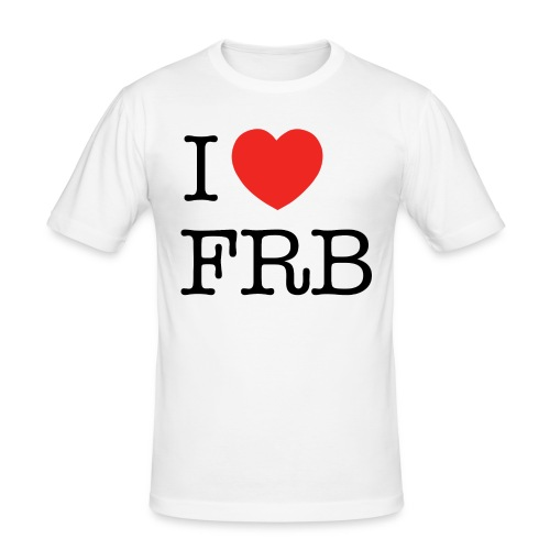 I Love FRB - Bestsellere - Herre Slim Fit T-Shirt