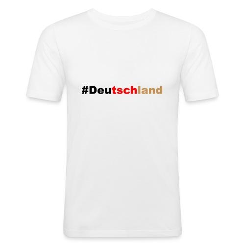 #Deutschland - Männer Slim Fit T-Shirt