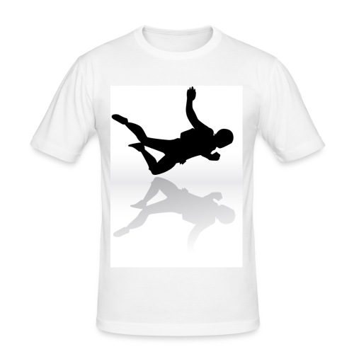 Paracaidista - Camiseta ajustada hombre