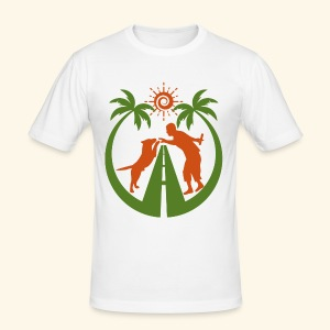Travel & Fun - Männer Slim Fit T-Shirt