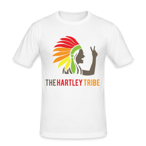 The Hartley Tribe - Männer Slim Fit T-Shirt