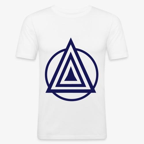 Zentara Circle NEON C - Männer Slim Fit T-Shirt
