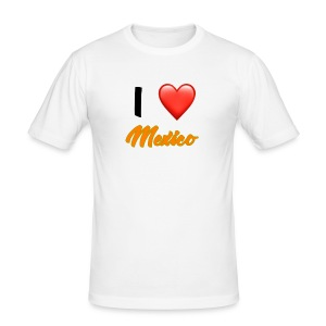 I love Mexico T-Shirt - Men's Slim Fit T-Shirt