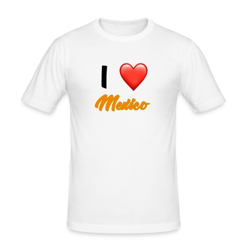 I love Mexico T-Shirt - Men's Slim Fit T-Shirt