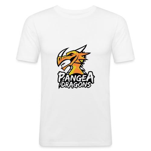 PanGea Dragons - Yellow - Männer Slim Fit T-Shirt
