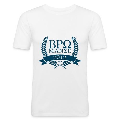 BromanceWG 2012 (Greek) - Männer Slim Fit T-Shirt
