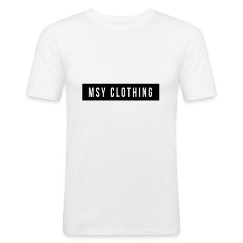 MSY Clothing Design - Männer Slim Fit T-Shirt
