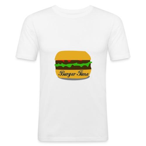 Burger Time - T-shirt près du corps Homme