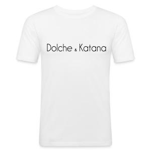 Dolche & Katana - Männer Slim Fit T-Shirt
