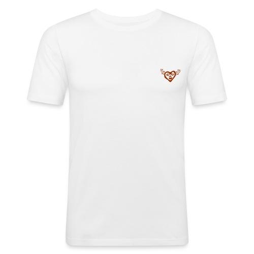 RENNES DE NOEL - T-shirt près du corps Homme