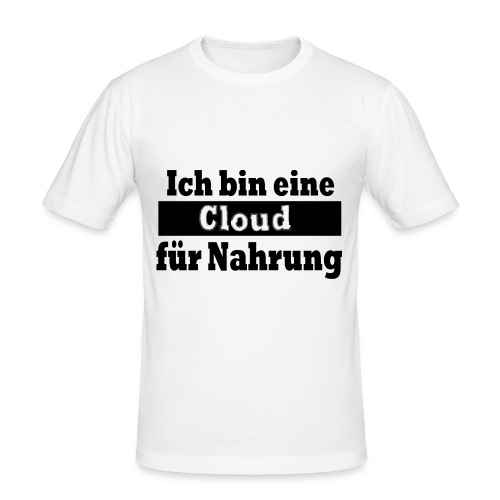 cloud - Männer Slim Fit T-Shirt