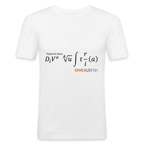 Physics for divers (DiveAustria) - Männer Slim Fit T-Shirt