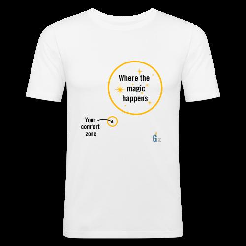 Where the magic happens I - Men's Slim Fit T-Shirt